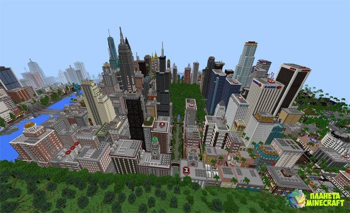Скачати карту города на майнкрафт 1.7.2