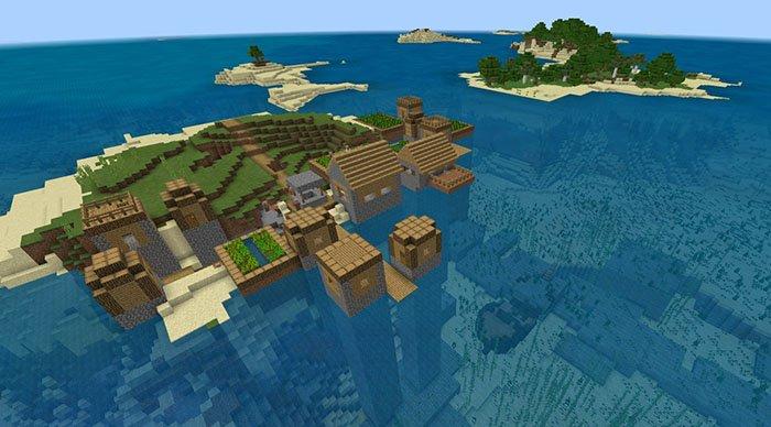 сиды майнкрафт подводная крепость #8